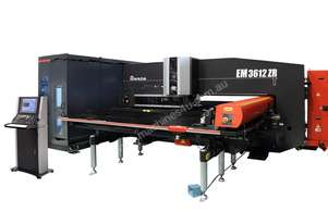 Amada EM-ZRT - Highly Automated Servo-Electric Turret Punch Press with Auto tool change & Full Brush