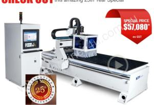 KDT KN2408 CNC FLAT BED ROUTER