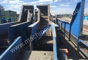 Custom Made Incline Conveyor