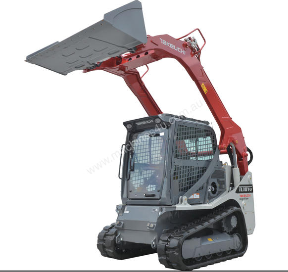 TL10V2 4.6T 74HP VERTICAL LIFT TRACK LOADER