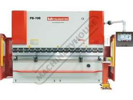 PB-70B Hydraulic CNC Pressbrake 70T x 3200mm CNC Fasfold 202 Control 2-Axis with Hardened Ballscrew  - picture0' - Click to enlarge