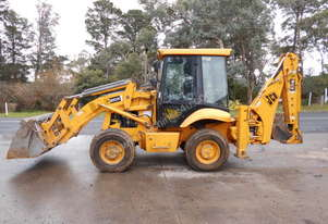 JCB 2CX extender hoe, 2003 , 3500hrs , ex council