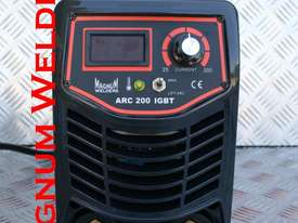 Magnum Welders Arc200 MMA/Lift Tig 200amp Welder $350 - picture1' - Click to enlarge