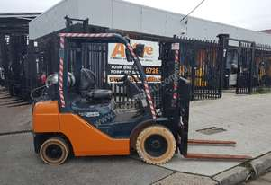 Toyota Forklift 8FG25 3m Lift N/M Tyres Negotiable