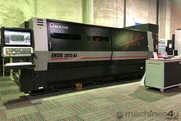 ENSIS 3kw Fiber Laser - High speed, high quality processing of a wide range. **Up to 25mm Steel**