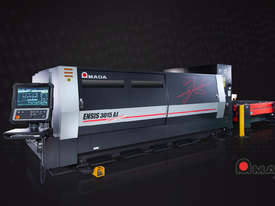 Amada ENSIS 3kw Fiber Laser - High speed processing of thin to thick material  - picture5' - Click to enlarge