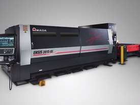 Amada ENSIS 3kw Fiber Laser - High speed processing of thin to thick material  - picture2' - Click to enlarge