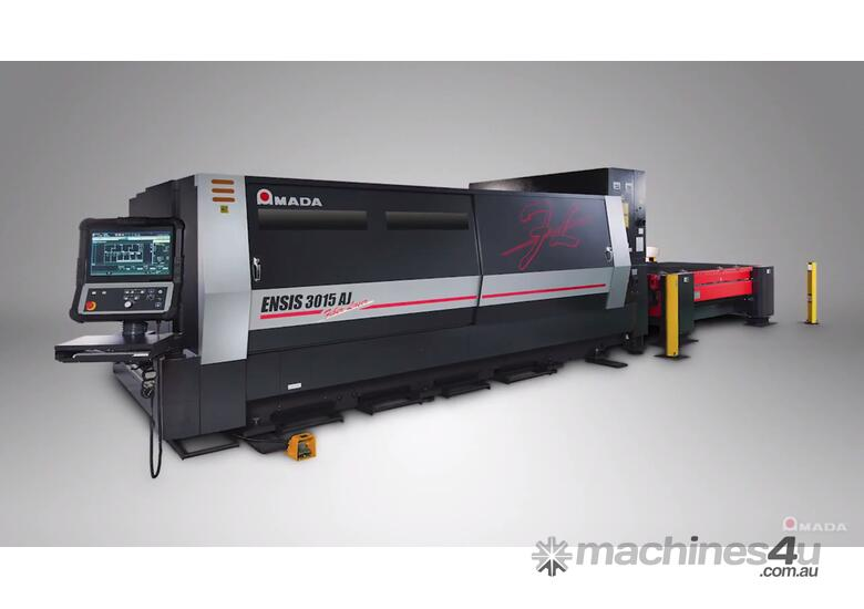 Amada ENSIS 3kw Fiber Laser - High speed processing of thin to thick material