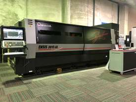 Amada ENSIS 3kw Fiber Laser - High speed processing of thin to thick material  - picture0' - Click to enlarge