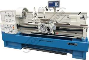CL-460 Centre Lathe 460 x 1500mm Turning Capacity - 80mm Spindle Bore Includes Digital Readout, Quic