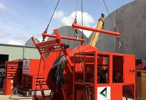 Hydraulic Hose Winch c/w Swivel