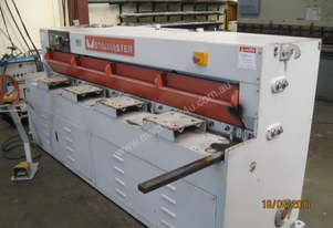 Used Metalmaster 2500mm x 4mm Hydraulic Guillotine