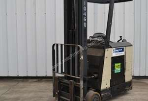 Good Condition Crown Stand Up Reach Truck