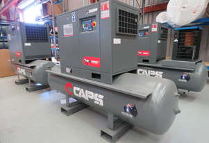 CAPS Brumby CR5-10-500 23cfm 5.5kW 10Bar Rotary Screw Air Compressor with 500L Receiver Tank