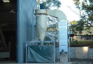 Used factory dust extraction system and ducting