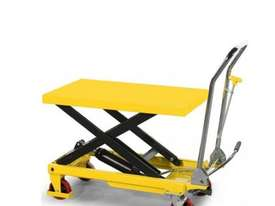 500kg Hydraulic scissor lift table/trolley - picture0' - Click to enlarge