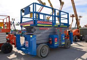 2008 Genie GS-5390 RT Scissor Lift