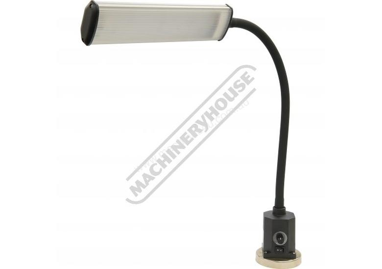 HL-14LT 14W LED Work Light  Dimmer Control, Flexible Arm, Magnetic Base & Built-in Transformer