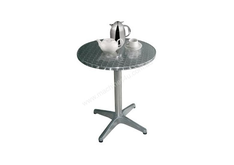 Bolero Round Table with Curved Edge Heavy Duty Base Dia 80x72cm