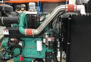 115kW/143kVA 3 Phase Skidmounted Diesel Generator.  Cummins Engine.