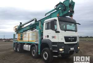 2011 McCullochs Manufacturing DR950 Drill Truck
