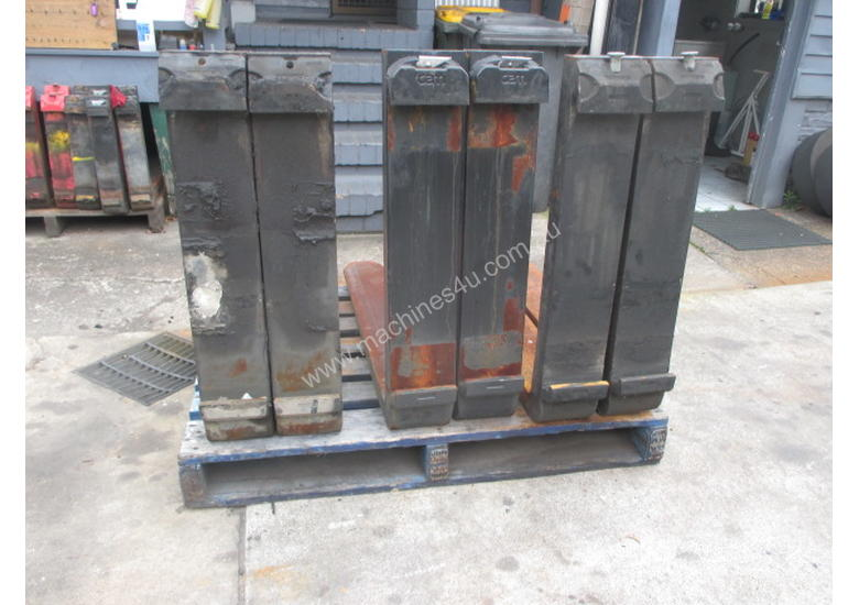 Fork Tynes, 7 ton Used Forklift Attacmnent