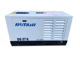 Portable Silent Box Compressor 25 HP 127CFM Rotair DS-37-5 - picture2' - Click to enlarge
