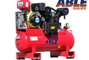 Diesel Air Compressor 7HP 100 Litre 20CFM 145PSI