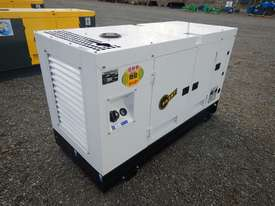Ashita AG-40 Skid Mounted 30KvA Diesel Generator - picture0' - Click to enlarge