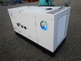 Ashita AG-40 Skid Mounted 30KvA Diesel Generator - picture3' - Click to enlarge