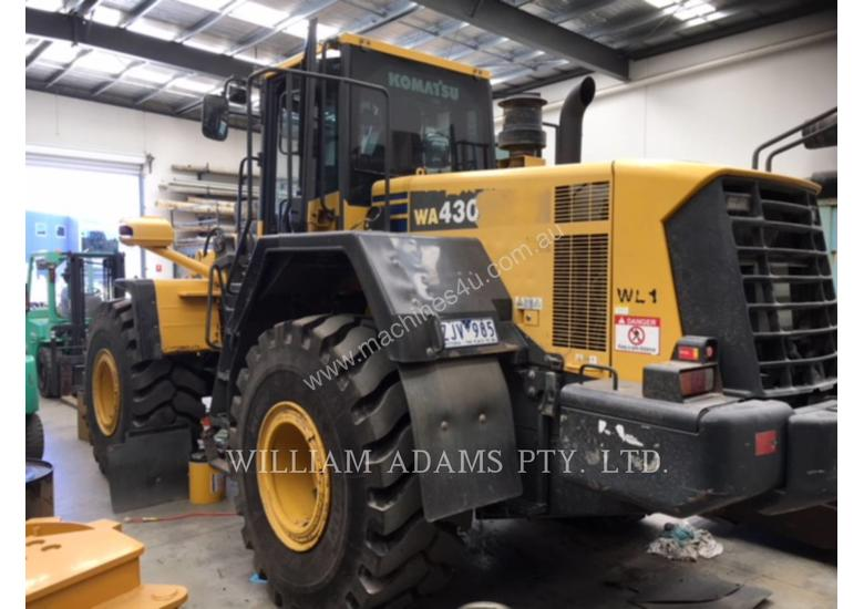 KOMATSU LTD. WA430-6 Wheel Loaders integrated Toolcarriers