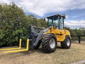 Sold -  6T Volvo Wheel Loader Quick Hitch Forks & GP Bucket Only 686hrs same Size as Cat 906H - picture0' - Click to enlarge