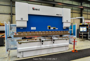 $355.00 per week with NO BALLOON. New Yawei Pressbrake PBH 110-3100 CNC5 with Delem DA-52S