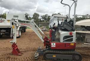 Near new Takeuchi 210R Mini Excavator