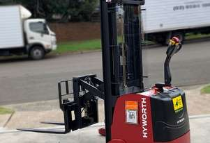 HYWORTH 1.5T Walkie Reach Stacker Forklift HIRE from $160pw + GST