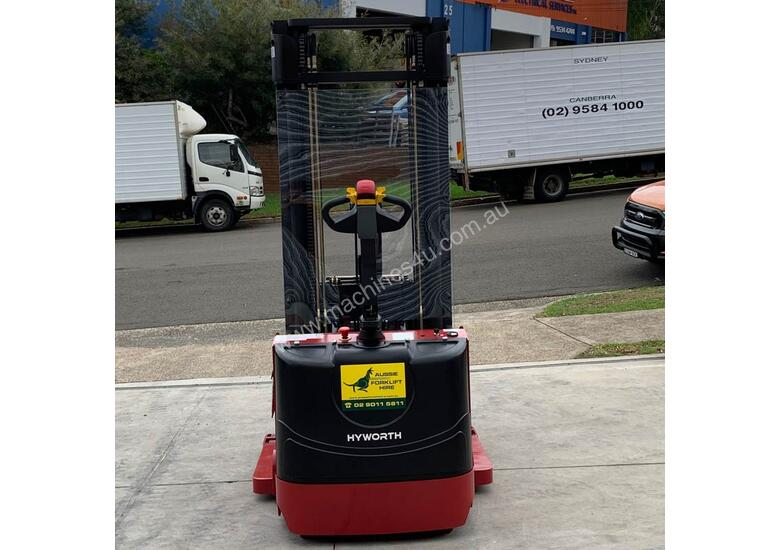 HYWORTH 1.5T Walkie Reach Forklift HIRE from $160pw + GST