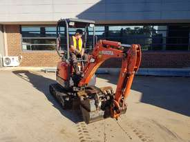 2017 KUBOTA U17-3 EXCAVATOR WITH QUICK HITCH, BUCKETS AND LOW 790 HOURS - picture0' - Click to enlarge