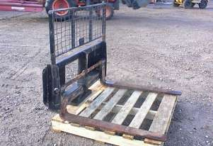 Custom Built Skid steer fork attachment