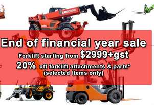 Nissan Forklift 2.5 Ton 6000mm Lift New Paint Works Well *EOFY Special*