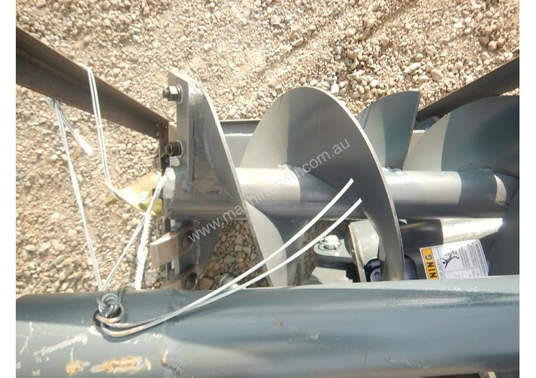 New Paladin Hydraulic Auger Drive C W 2 X Augers Skid