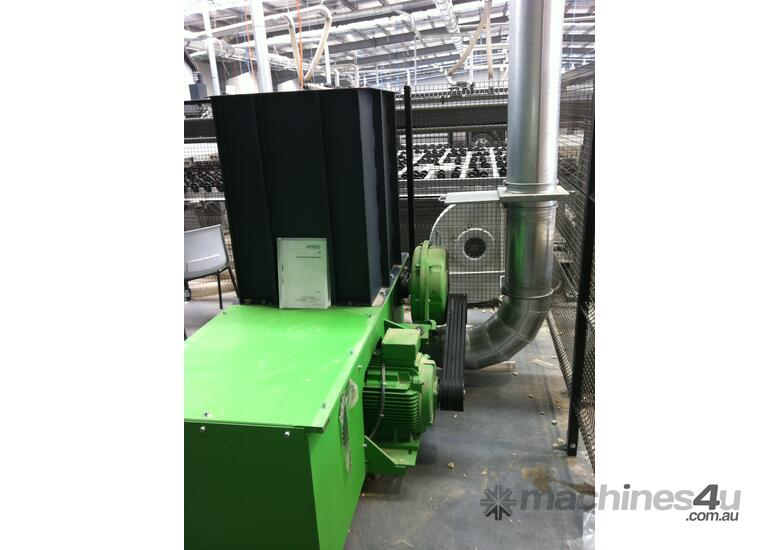 Wood Waste Shredder Grinder - Reduce your waste cost by 80%