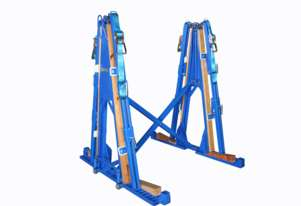 Folding 'A' Frames - Mod FAF-1800. For hauling marble, granite and glass sheets.