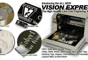 Vision Express - Quality Entry level engraver