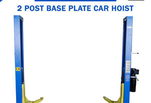 New 4 Ton 2 Post Base Plate Car Hoist