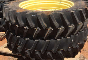Firestone 480/80R50 Outer Dual Rims & Tyres FWA/4WD Tractor