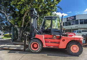 HIRE - Linde 15 Tonne Diesel Counter Balanced Forklift