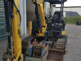 Used Yanmar VIO55-6B Open Cab Excavator, With Full Set of Buckets. - picture1' - Click to enlarge
