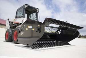 Himac Skid Steer Rock Picker