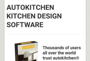 Kitchen and cabinets software drawings program  with CNC linker and estimator