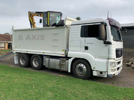 Tipper Truck Bogie with Large 18m3 Bin for Soil Clay Rock Concrete Removal  - picture2' - Click to enlarge